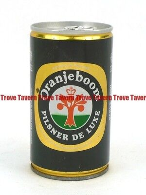 1970s HOLLAND Rotterdam ORANJEBOOM PILSNER DE LUXE BEER can Tavern Trove