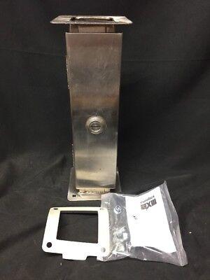 Eurobex Xiii Stainless Steel Enclosure 1412 Xss2012 12 4x-2x2-12 Straight Sec.