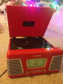 Steepletone ROXY 1 record player
