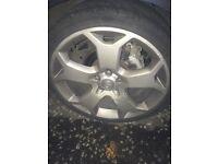 "Vectra vxr 19"" wheels"