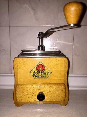 Schöne manuelle Kaffeemühle Mokka von Dienes Nr. 750. Coffee Grinder!
