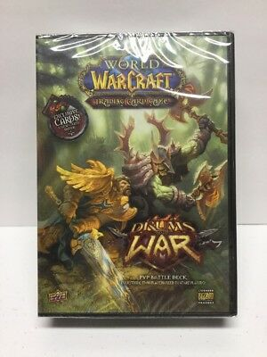 World of Warcraft Trading Card Game Drums Of War PVP Battle Deck WOW