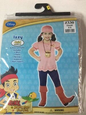 NEW HALLOWEEN Costume Disney Junior Jake Neverland Pirates IZZY Small - Jake Pirates Halloween
