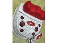 FOOT MASSAGER CHI MACHINE INFRA RED DEEP HEAT MASSAGER FOR BOTH FEET USED ONCE ONLY FROM NEW