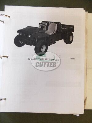 Used John Deere E-gator Utility Vehicle Technical Manual Tm1766