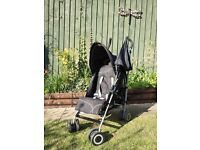 Red kite push chair (colour:-black and grey)