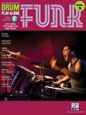 Funk Drum Play-Along Book and Audio NEW 000699745