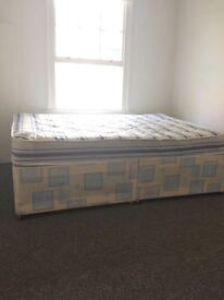 Free Double bed & mattress, good condition