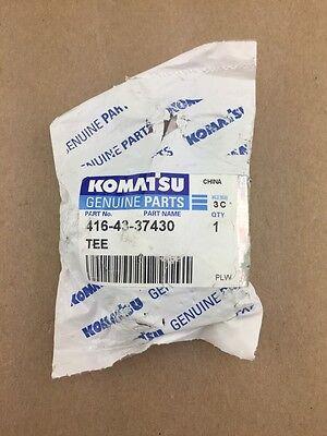 New Komatsu Oem Wa150-5 Sn 65001-up Brake Piping Tee 416-43-37430 Ships Free