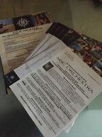 Programma Del Giorno Msc Orchestra Crociere Cruise -  - ebay.it