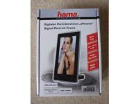 "Unwanted present - Brand new - HAMA vittoria Digital Photo Portrait frame 6"" - EU plug"