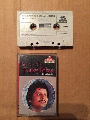 The Best Of Pankaj Udhas Ghazals - Rare Bollywood Cassette Music India (Best Of Pankaj Udhas Ghazals)