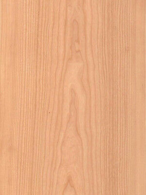 Cherry Wood Veneer Plain Sliced Paper Backer Backing 2 X 8 24 X 96 Sheet