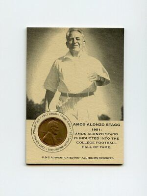 #LK.1231 NELLIE FOX 1951 Wheat Penny Insert Trade Card RARE