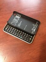 Bluetooth Slide Keyboard Case for Iphone 4 and 4s, New!!