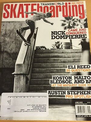 Transworld Skateboarding Magazine June 2009