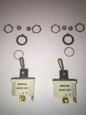 2 Cutler-hammer Toggle Switches 8906k4526 Brand New In Sealed Package