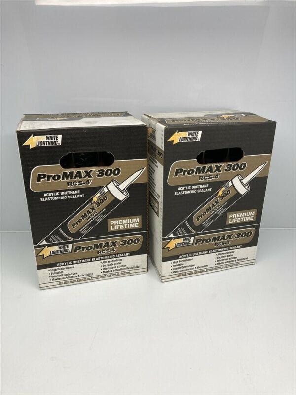 2 Boxes of 12 (10oz tubes) Bronze ProMax 300 RCS-4 White Lightning Sealant