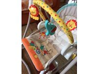 Fisher Price 3-in-1 Swing-n-Rocker central London