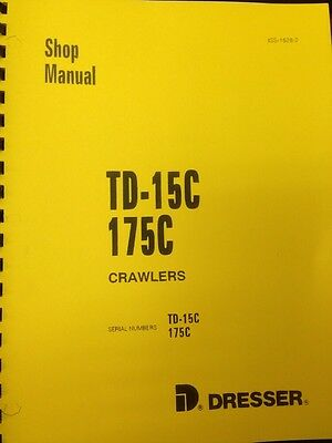 Dresser Ih 175c Crawler Loader Service Shop Manual