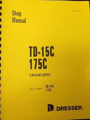 Dresser Ih 175c Crawler Loader Service Shop Manual