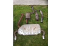 Ford Focus ST225 standard exhaust