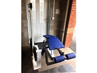 Commercial gym as new quality leg curl hamstring machine 120kg weights bodybuilding gym equiptment