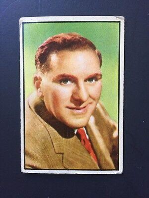 1953 Bowman William Bendix Card # 15  Babe Ruth Movie Rare