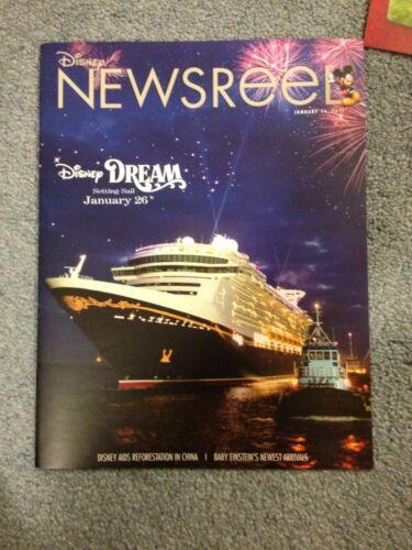 Disney Newsreel Setting SAIL Disney Dream & MORE January 14, 2011 NEW