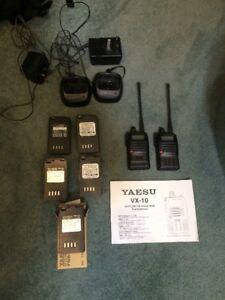 Yaesu Vx 10 Radios X2 Plus Acc