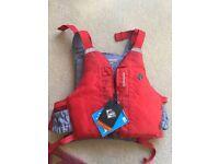 *NEW** Palm PFD Buoyancy Aid Red & Grey.Fully Adjustable Xs-xxl Child/Adult