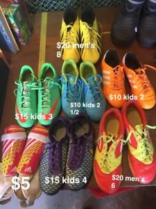 Men's, women's, kids Soccer Shoes and accessories
