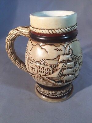 Vintage Hand Crafted AVON Tall Ship Small Tankard
