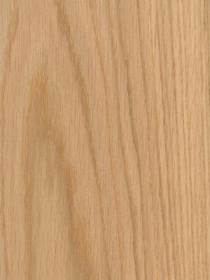 Red Oak Wood Veneer Plain Sliced Paper Back Backer 2 X 4 24 X 48 Sheet