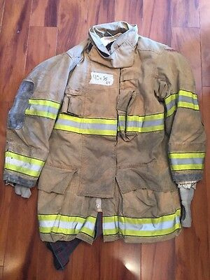 Firefighter Globe Turnout Bunker Coat 40x35 G-xtreme Halloween Costume