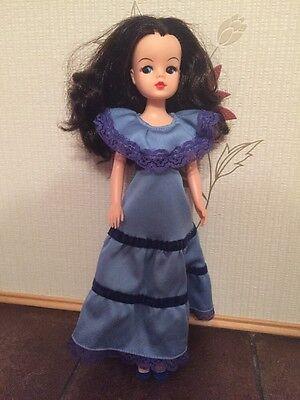 Beautiful Brunette Sindy Doll In 1980 Pedigree Gypsy Lady
