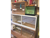 bird breeding cages x3