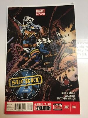Secret Avengers #2 Kobik In A Vision 2013 Comic Book
