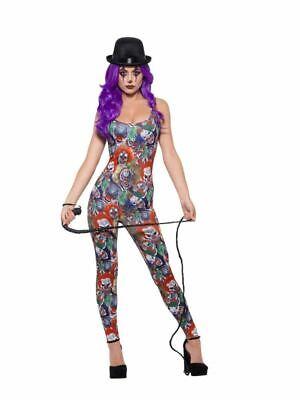 Gruselig Clown Kostüm, Halloween Zirkus Kostüm, UK Größe - Größe 6 Halloween Kostüme Uk