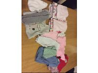 Baby girls clothes all from next 0-3 months