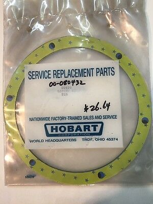 Hobart Dishwasher Gasket Kit Genuine Part 00-080432 80432
