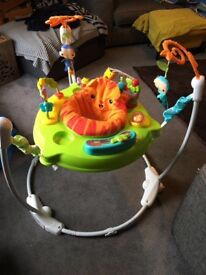 Fisher Price Baby Rainforest Jumperoo Bouncer Activity Station