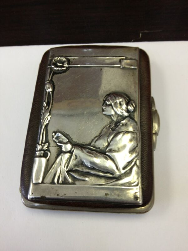 ANTIQUE SILVER WALLET from 1900s