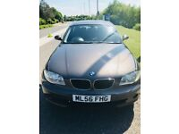 BMW 1 SERIES 116i PETROL MANUAL 5 DOOR LOW MILEAGE GOOD CONDITION £2250