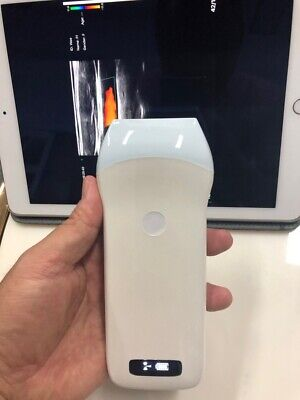 Smartphone Wireless Portable Ultrasound Scanner Mini Linear Color Doppler Probe