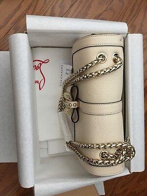 Christian Louboutin Sweet Charity Beige Bag NWT 2,150$ Original price
