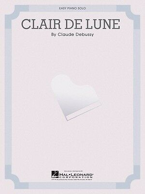 CLAIR DE LUNE Sheet Music Easy Piano Solo NEW Debussy Claude 000110042