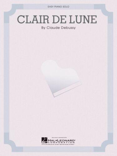 CLAIR DE LUNE Sheet Music Easy Piano Solo NEW Debussy Claude 000110042