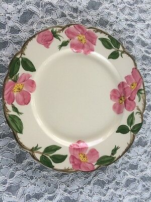Vintage Franciscan Desert Rose Dinner Plate 1950's Markings Desert Rose Dinner Plate