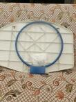 Basketbalbord met ring en net